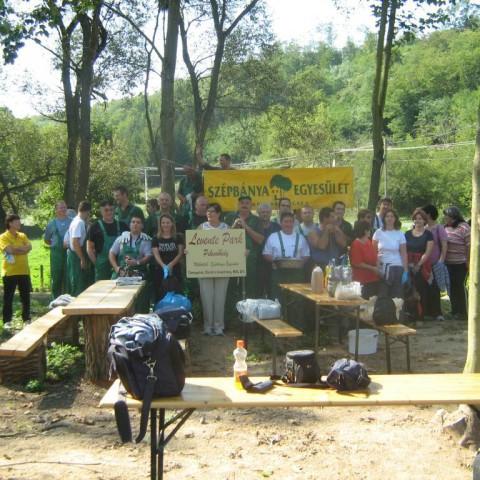 Zöldövezet díj 2010: Szépbánya Egyesület